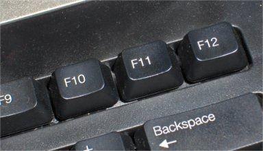 Teclas que nos volvieron locos. F11
